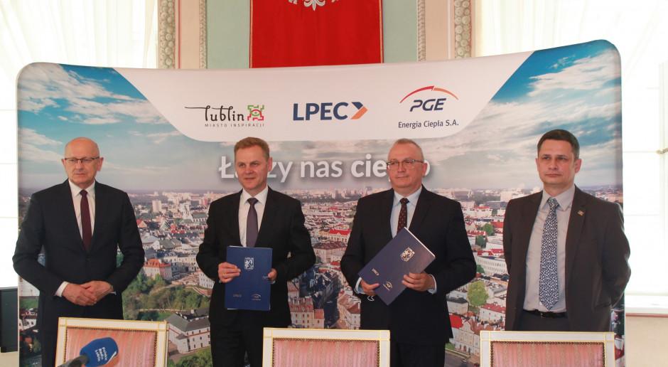 LPEC i PGE Energia Ciepła zawarły wieloletnią umowę na dostawy ciepła