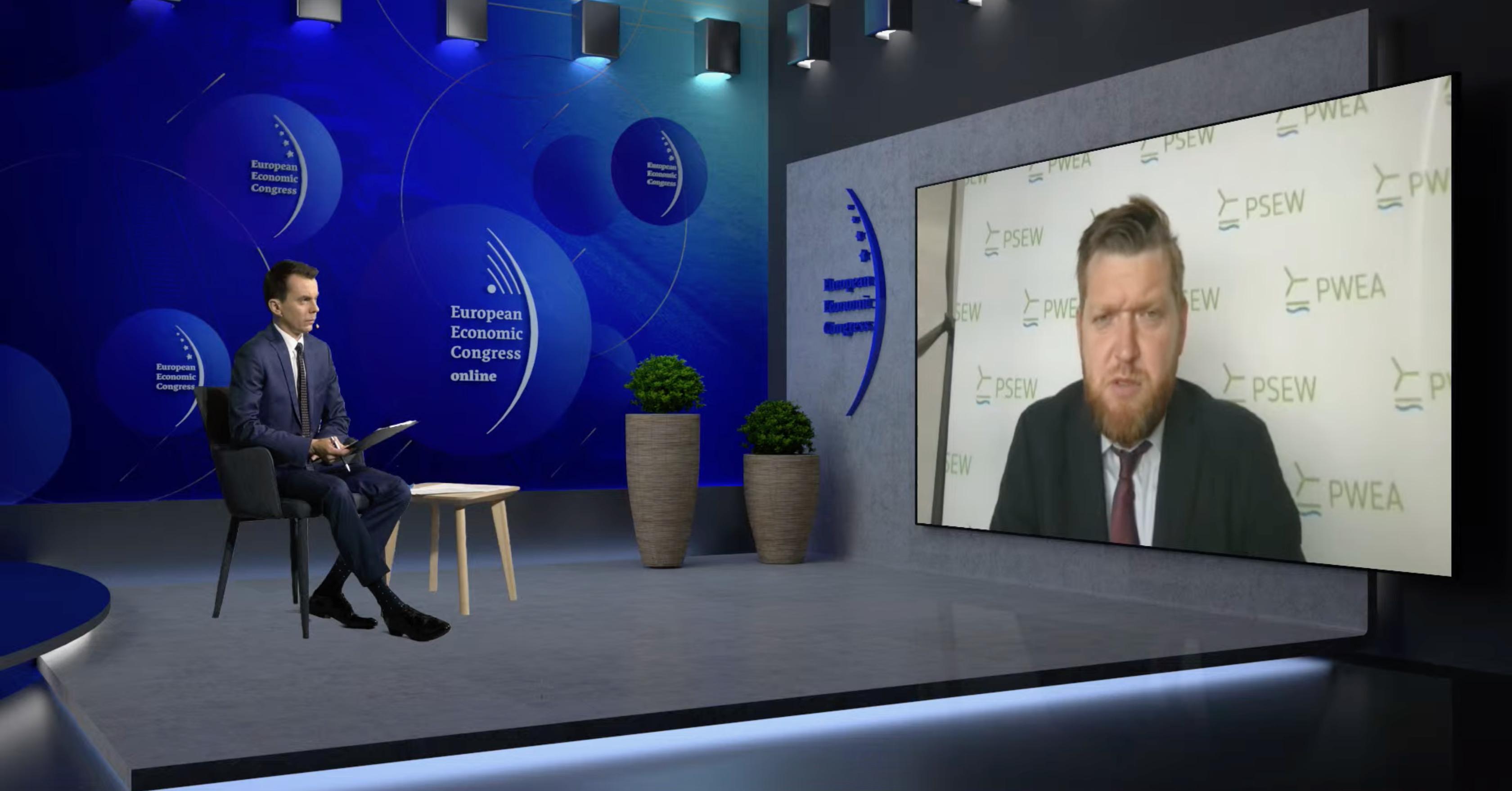 Janusz Gajowiecki, prezes zarządu, Polskie Stowarzyszenie Energetyki Wiatrowej