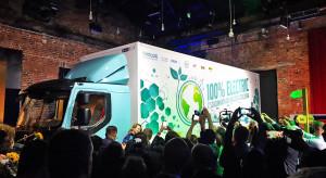 Pierwsze takie testy elektrycznej ciężarówki w Polsce