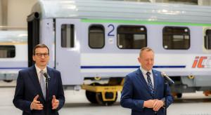 Morawiecki: takie firmy jak Remtrak zapewniają wysoką jakość kolei