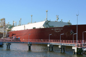 Kolejny transport LNG w Świnoujściu