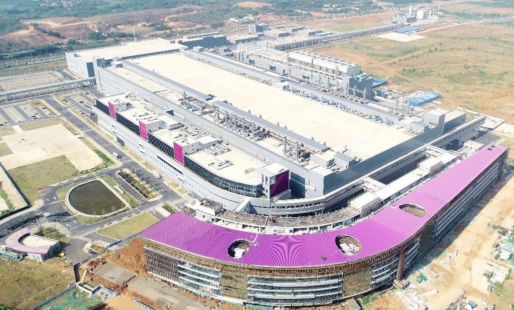 Według szacunków tajwańskiej firmy konsultingowej Trendforce w tym roku YMTC zdobędzie 3,8 proc. udziałów w globalnym rynku NAND. Fot. YMTC