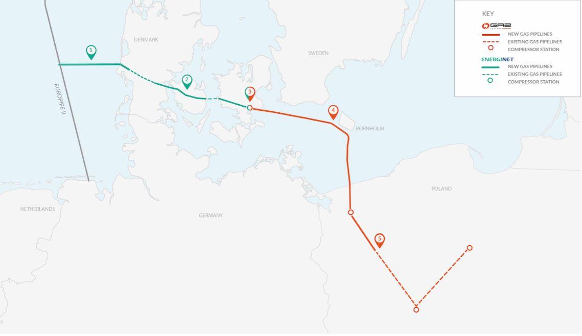 Gazociąg Baltic Pipe (fot. mat. pras.)