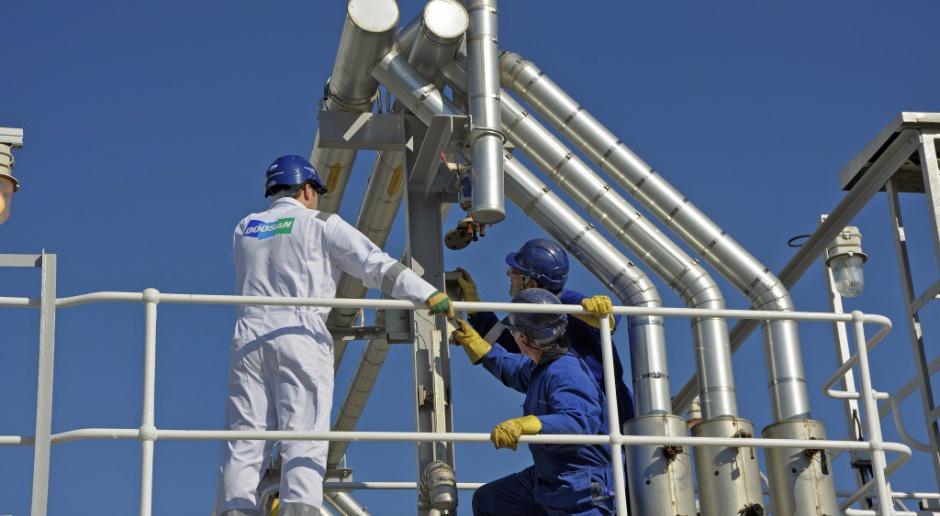 Doosan od dawna jest obecny w budownictwie przemysłowym w Polsce