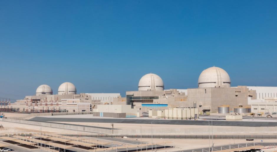 Elektrownia jądrowa Barakah w Zjednoczonych Emiratach Arabskich budowana przez koreański KHNP
