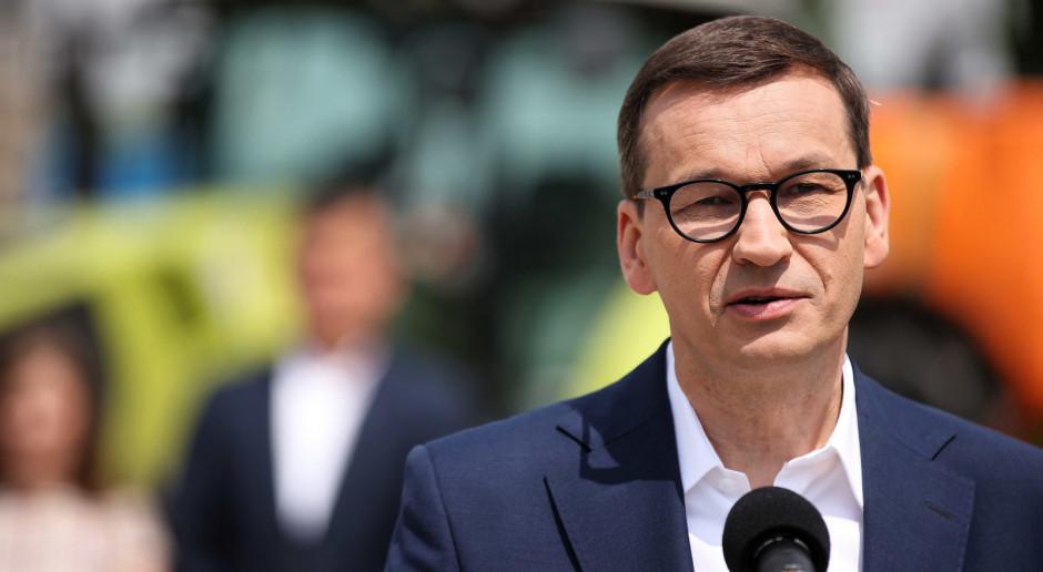 Premier: Wspieranie polskiego rolnictwa to jedno z najważniejszych zadań rządu