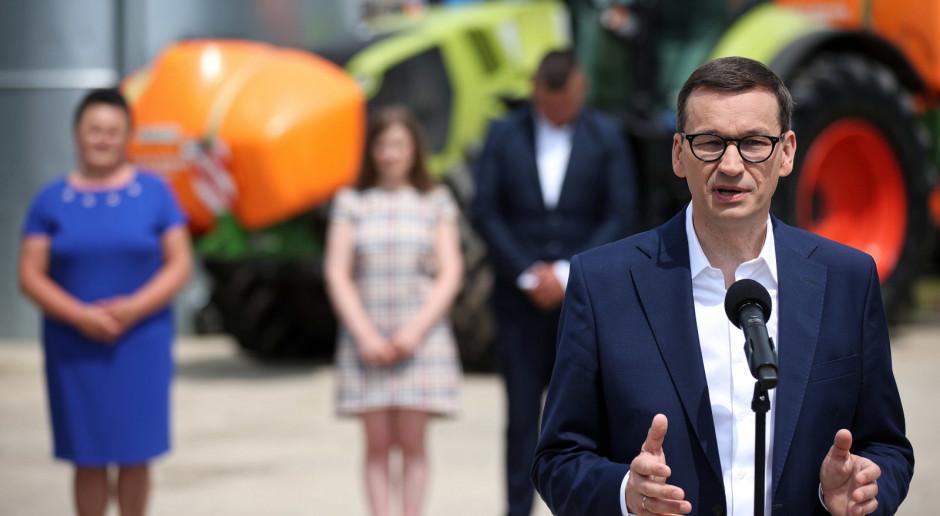 Morawiecki zapowiada kontynuację programów dla wsi i rolników