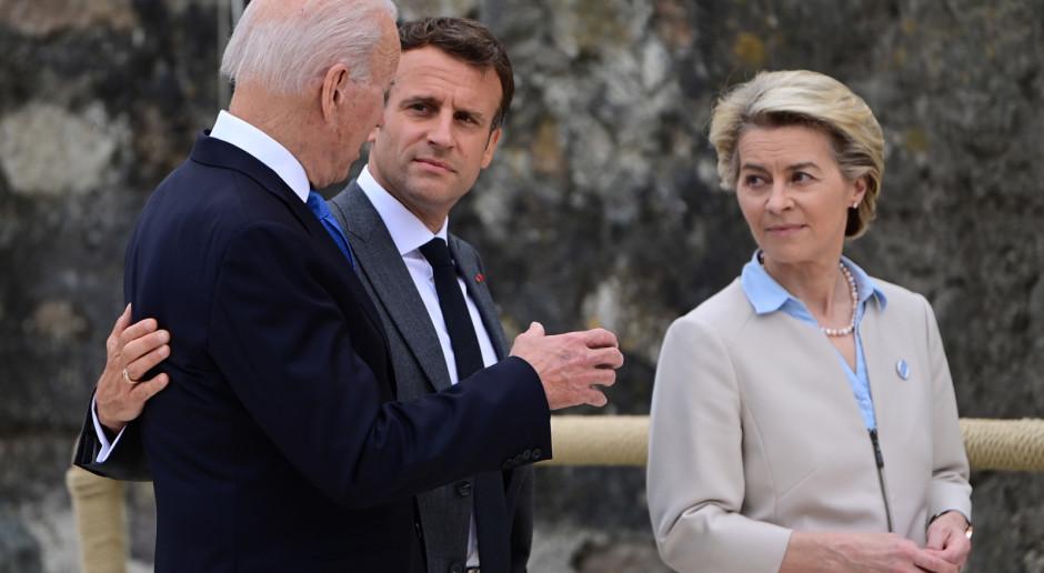 Na szczycie G7 Biden, Macron i von der Leyen o konieczności wspólnych działań