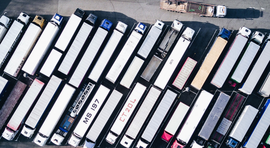 Lubelskie: Kolejki tirów na przejściach granicznych z Ukrainą i Białorusią