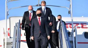 Prezydent Duda przybył do Bruksel. Weźmie udział w szczycie NATO
