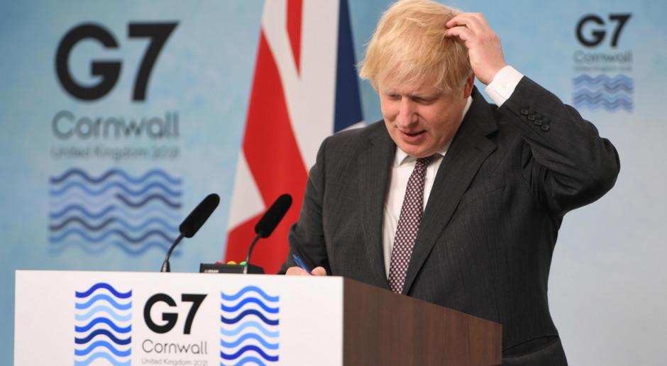 G7: Dyplomatyczny zgrzyt między Johnsonem a Macronem w kwestii statusu Irlandii Płn.