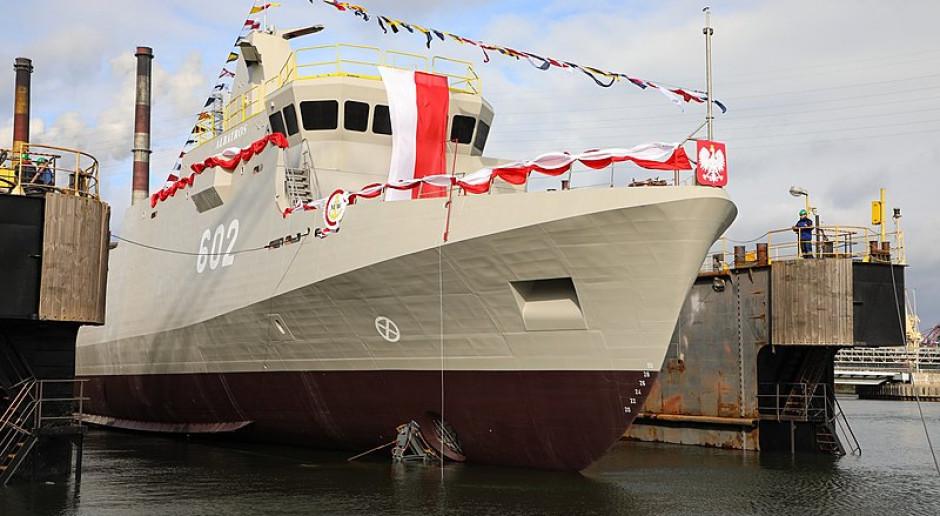 Albatros w próbach morskich. Kolejny niszczyciel min dla Marynarki Wojennej