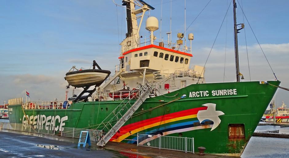 Greenpeace blokuje odwierty ropy w Arktyce