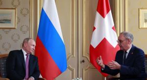 Putin spotkał się z prezydentem Parmelinem