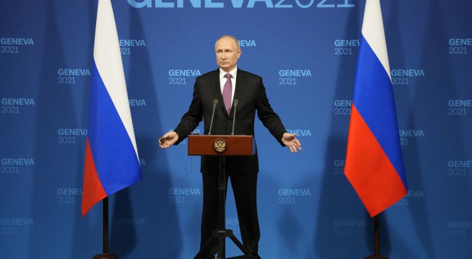 Putin na konferencji: Nie ma iluzji w sprawie relacji rosyjsko-amerykańskich