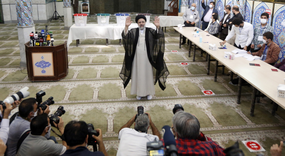 Iran: Ebrahim Raisi odbiera gratulacje po wyborach prezydenckich