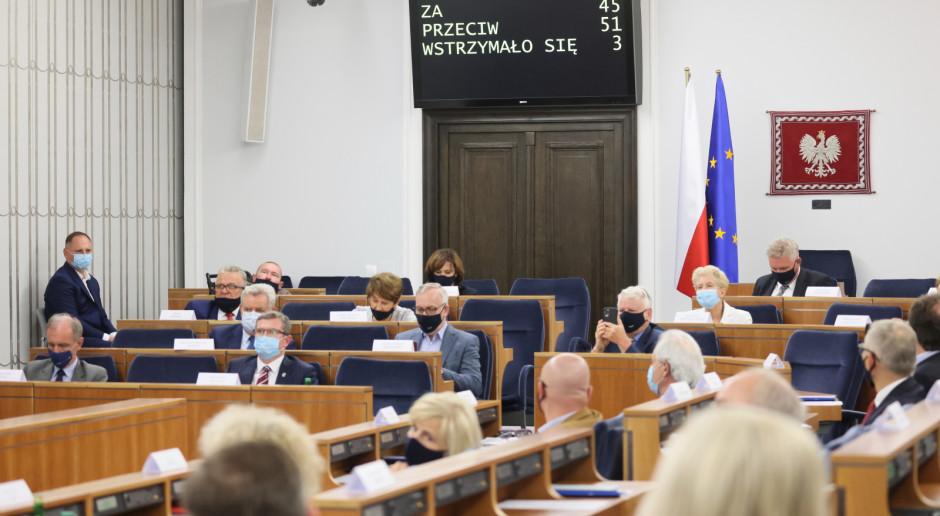 Senat chce dalszych zmian w przepisach dot. przedłużania koncesji wydobywczych