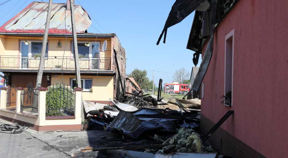 Grupa PZU po pożarze w Nowej Białej: decyzja o odszkodowaniu i wypłata w 24 godz.