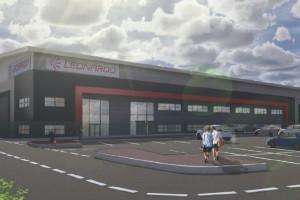Leonardo zbuduje nowe centrum logistyczne dla śmigłowców