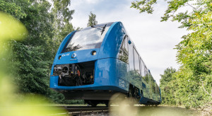 Pociąg napędzany wodorem będzie miał polską premierę
