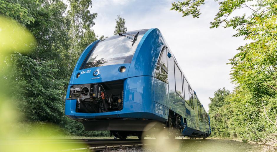 Alstom szykuje polską premierę pociągu na wodór