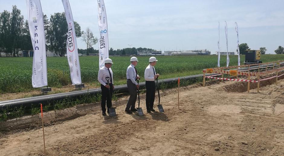 PERN rozpoczął budowę rurociągu Boronów - Trzebinia