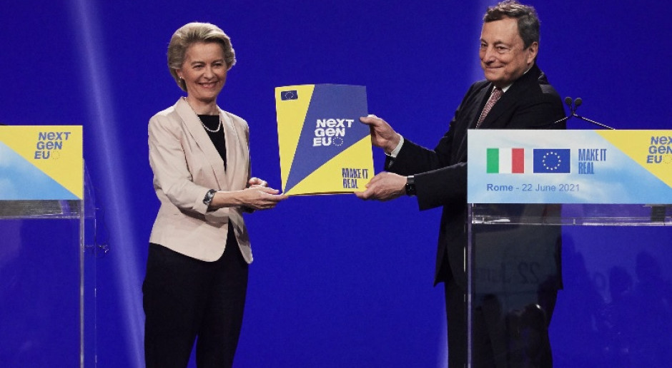 KE zaakceptowała krajowy plan odbudowy Włoch