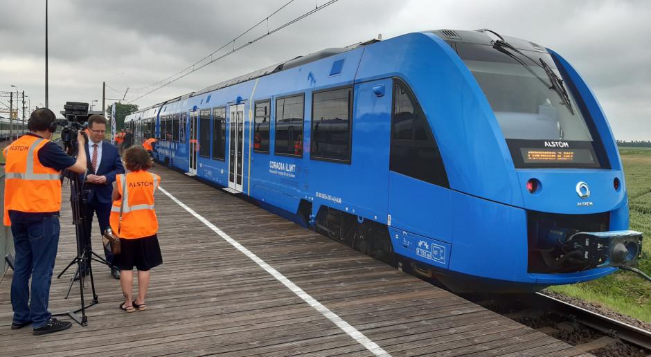 Andrzej Bittel: popularyzacja pociągów na wodór zależy od ich ceny