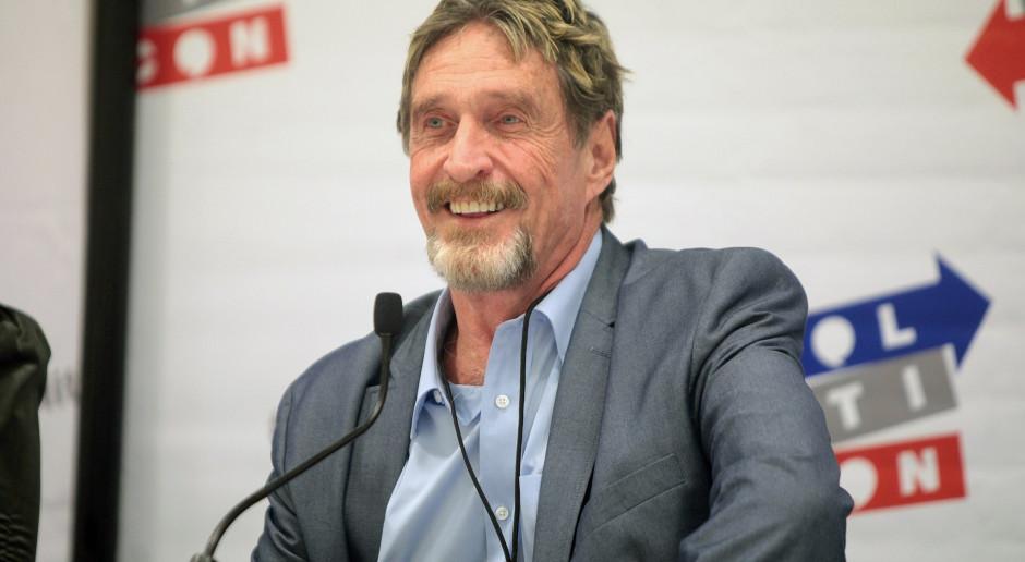 Zmarł twórca programów antywirusowych John McAfee