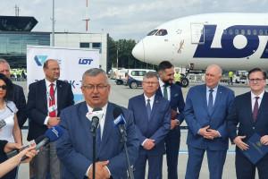 Adamczyk: Ruch na polskich lotniskach się ożywia.  Siatka połączeń coraz atrakcyjniejsza