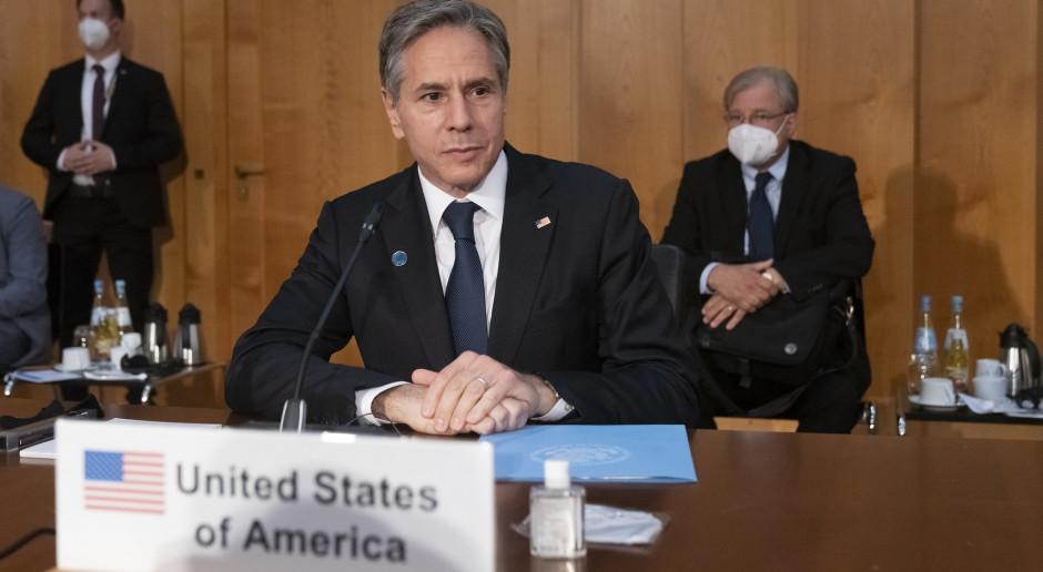 USA: G-20: Blinken nie będzie rozmawiał z szefem chińskiego MSZ