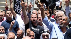 Palestyńczycy protestują przeciwko Abbasowi