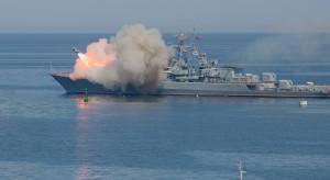 Rosyjskie okręty wojenne przeprowadziły ćwiczenia na Morzu Śródziemnym