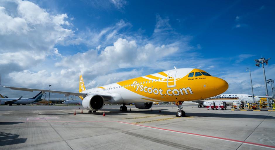 Singapore Airlines kupuje maszyny dla swej taniej linii