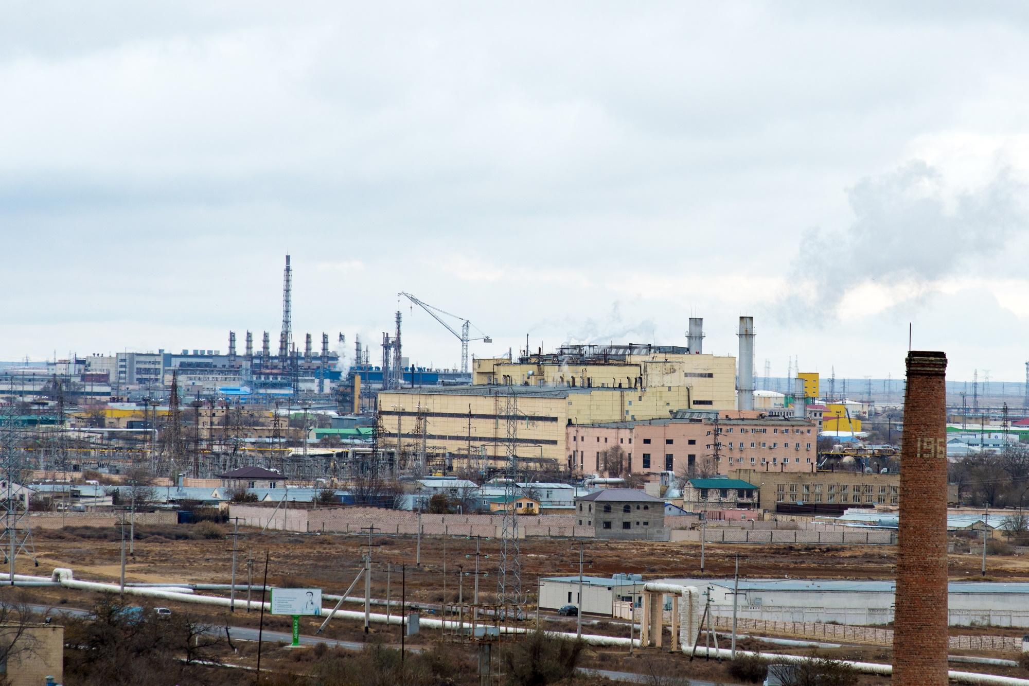 Wygaszona elektrownia atomowa w Mangystau Fot. Shutterstock