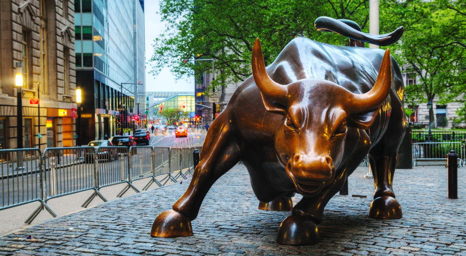 Wzrosty na nowojorskich giełdach; S&P 500 z historycznym rekordem