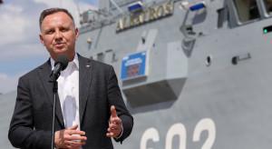 Prezydent w Stoczni Remontowej Shipbuilding: patrzę z dumą na polski przemysł stoczniowy