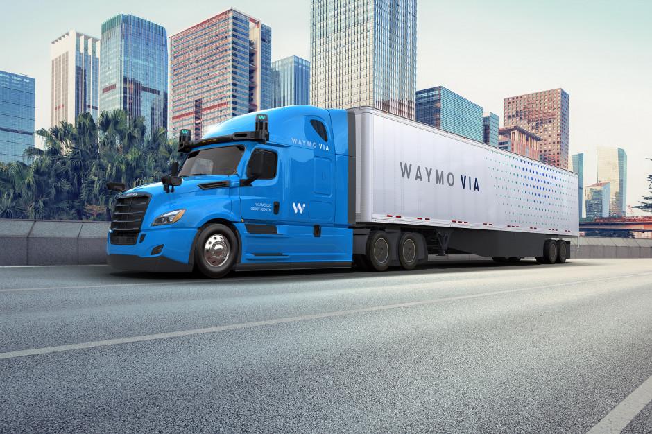 Amerykanie boją się zwłaszcza wielkich, autonomicznych ciężarówek. Fot. Mat pras
