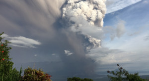 Wybuch wulkanu Taal na Filipinach - ewakuacja ponad 14 tys. ludzi