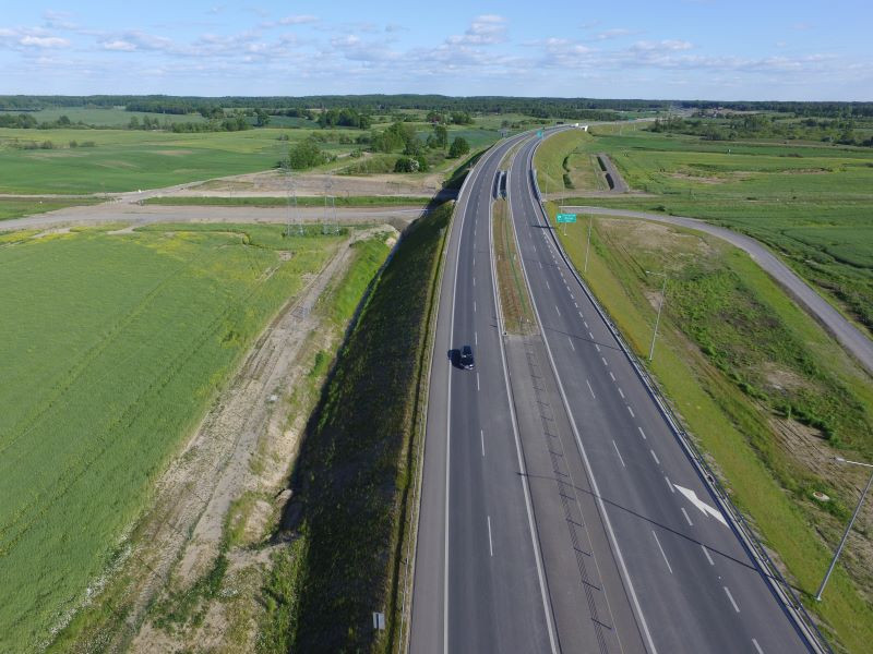 Jedna z dróg szybkiego ruchu. Fot. GDDKiA