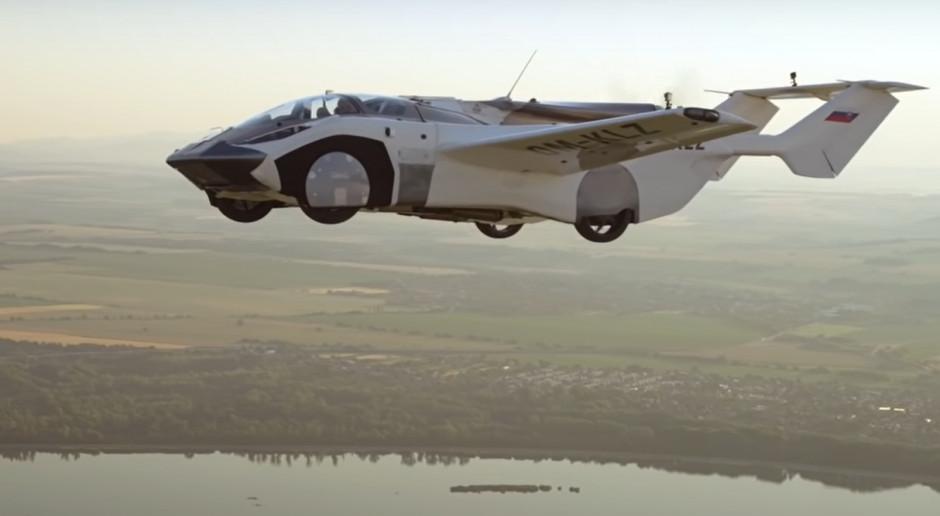 Aircar 1, czyli latający samochód