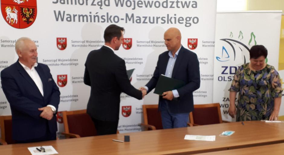 Za dwa lata zostanie odnowiona droga Łukta - Olsztyn