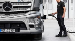 Firmy ciężarówkowe dają pół miliarda euro na stacje ładowania
