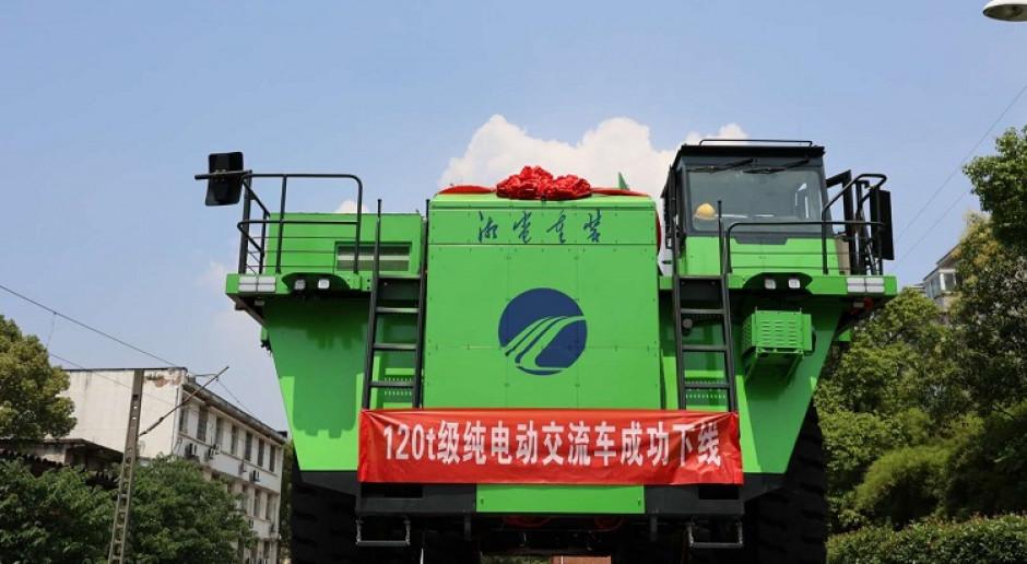 Elektryczna ciężarówka wagi superciężkiej