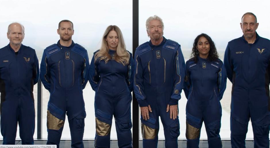 Richard Branson nie może się doczekać wizyty kosmosie. To już blisko