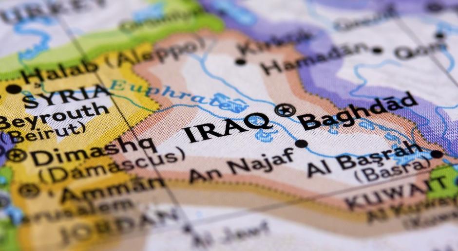 Atak rakietowy na bazę wojskową USA na lotnisku w Irbilu