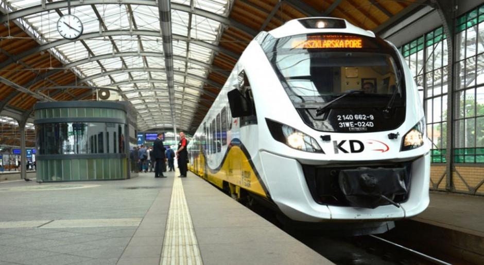 Koleje Dolnośląskie testują pierwszy z zamówionych pociągów hybrydowych