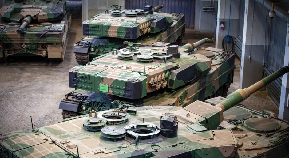 Leopardy będą sprawniejsze i niezawodne. Jest umowa na naprawy czołgów