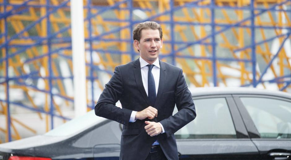 Austria: Kanclerz Kurz zostanie ojcem