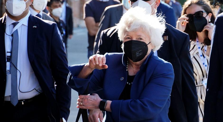 Włochy: Amerykańska minister skarbu ostrzega przed wpływem wariantu Delta na światową gospodarkę
